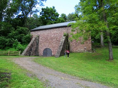 the Joanna Furnace charcoal barn