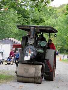 1918 steam roller