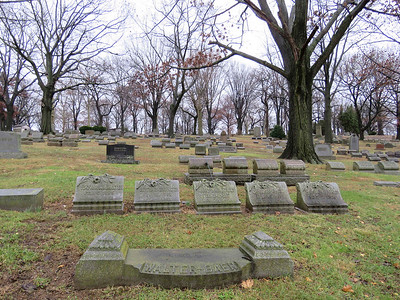 Charles Evans Cemetery, Reading, December 16, 2018