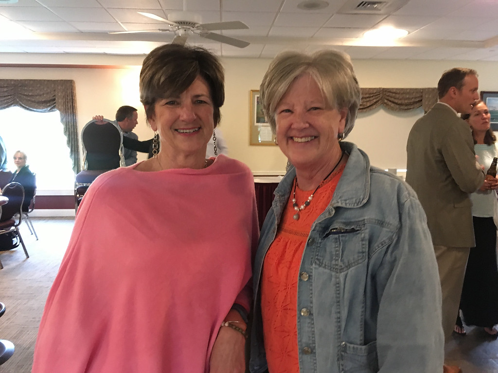 . Sisters Kim and Sharon Keefe of Lowell