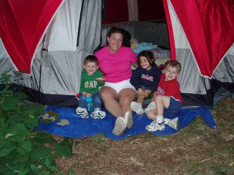 Lisa's 40th birthday camping trip