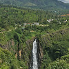 Saw Devon Falls- 6 km west of Talawakelle- it drops 97 m. and is named after a pioneer coffee planter.