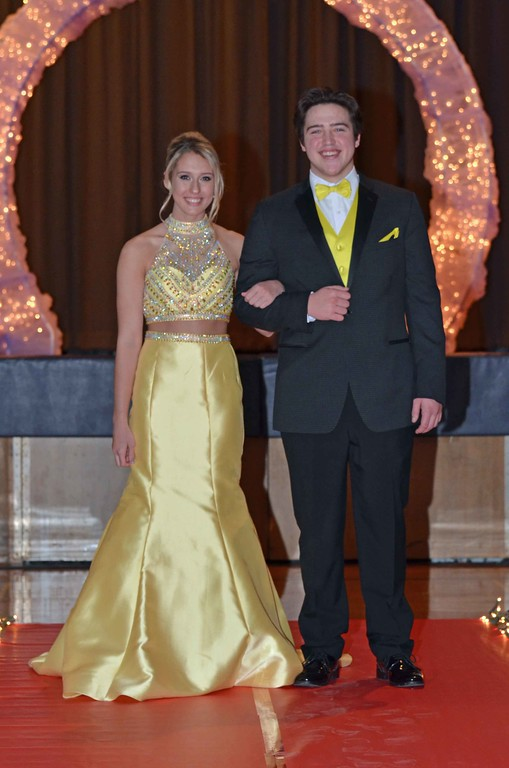 . Paul DiCicco - The News-Herald Photos from the 2018 Wickliffe High School Prom Fashion Show on Feb 11.  Sponsors were Sun Rental, Chick-fil-a, and American Commodore Tuxedo in Mentor, Salon Lofts of Mayfield Heights, and Salon Soleil of Willoughby.