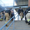 KRISTI GARABRANDT - THE NEWS-HERALD<br /> <br /> Eastlake Firefighters enter Classic stadium to begin mass causality training exercise.