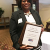 Daphne Hunter of The Lubrizol Corporation accepted awards for Lubrizol for the Largest Corporate Gift, the Largest Employee Campaign and the Largest Combined Total Campaign. {United Way of Lake County photo}