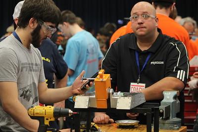 043016 Combat Robobotics Competition at Lakeland Community College