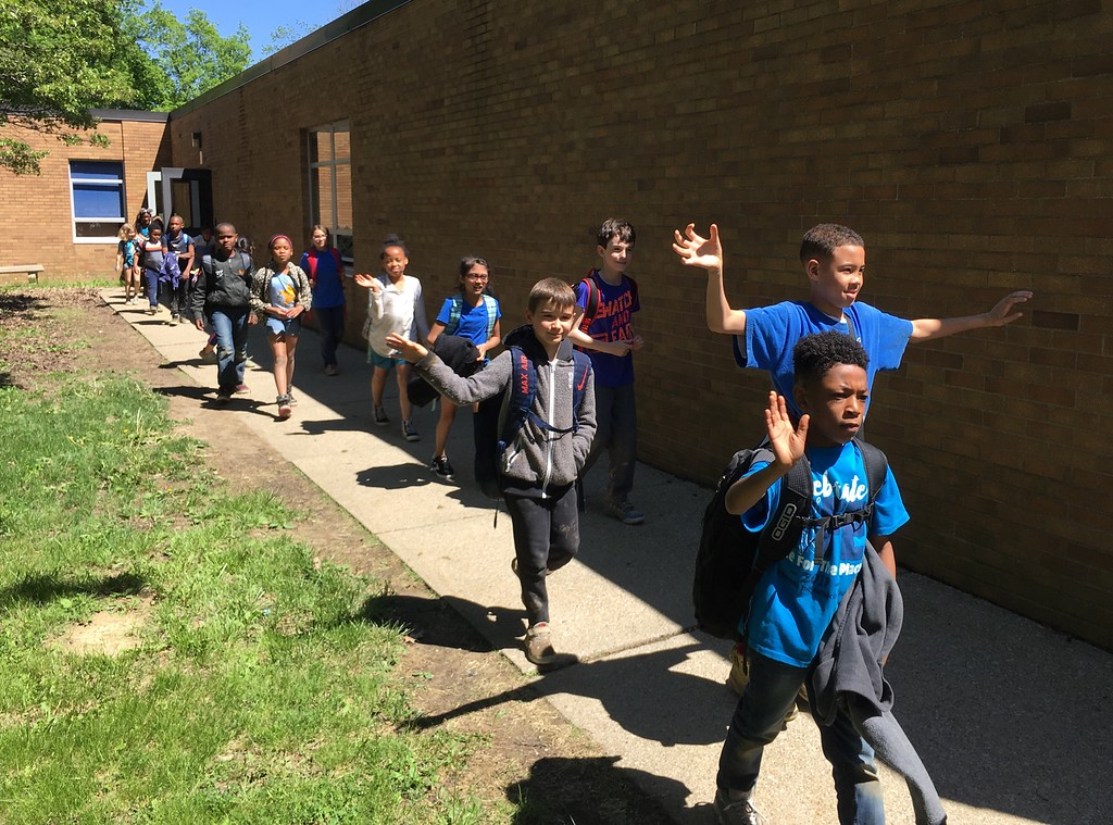 . Mark Podolski - The News-Herald Highlights from the Clap Out at Sunview Elementary in Lyndhurst on May 23. The event was for the third-grade classes that graduated.
