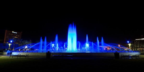 Friendship Fountain in Downtown Jacksonville
