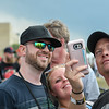 "Eric Bonzar—The Morning Journal <br /> Disc Jockey Shane ""Rover"" French stops to take photos with fans, July 30, 2016. French brought the ninth installment of Roverfest to the Black River Landing for a night of music, entertainment and debauchery."