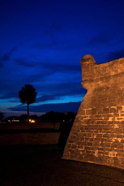 Castillo de San Marcos at Dusk