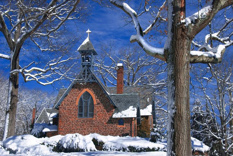 2/11/10 - red brrrick church