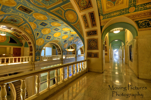Dixie Terminal - mezzanine view