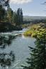 Deschutes River, Cascades in the distance