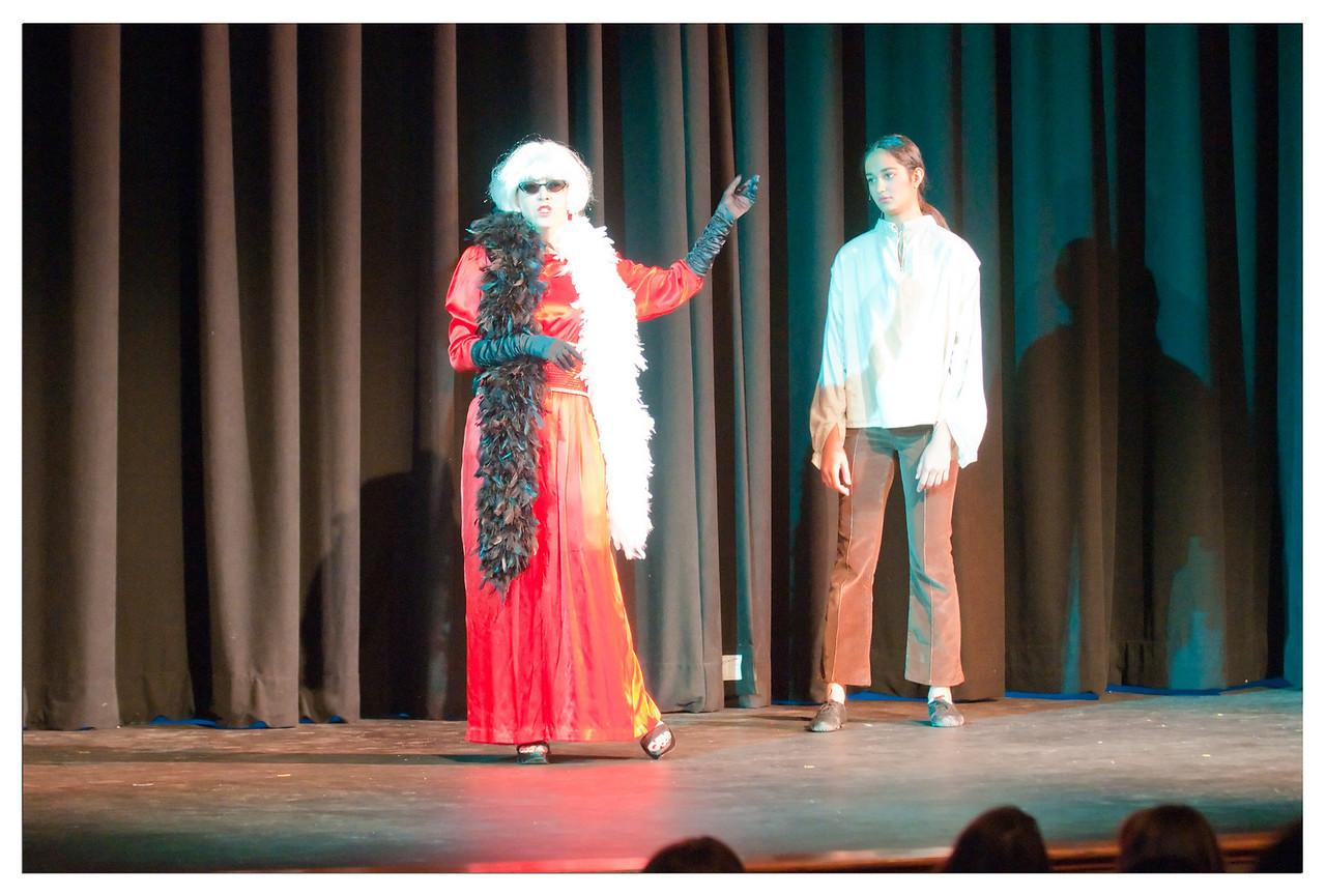 Castilleja Pantomime 1/ 60s, at f/2.8 || E.Comp:-3 / 6 || 90mm || WB: AUTO 0. || ISO: 2200 || Tone:  || Sharp:  || Camera: NIKON D300on: 2008:12:06 20:46:35