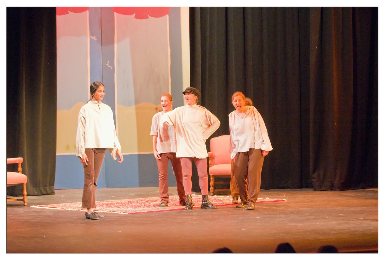 Castilleja Pantomime 1/ 180s, at f/2.8 || E.Comp:0 || 75mm || WB: AUTO 0. || ISO: 3200 || Tone:  || Sharp:  || Camera: NIKON D300on: 2008:12:06 20:38:18