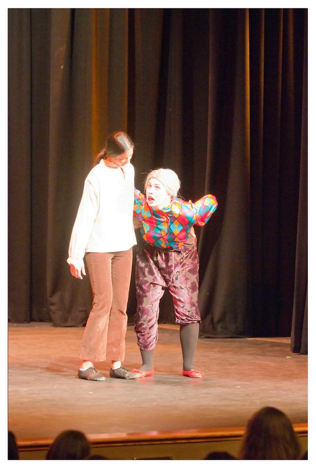 Castilleja Pantomime 1/ 125s, at f/2.8 || E.Comp:-3 / 6 || 110mm || WB: AUTO 0. || ISO: 3200 || Tone:  || Sharp:  || Camera: NIKON D300on: 2008:12:06 20:40:51