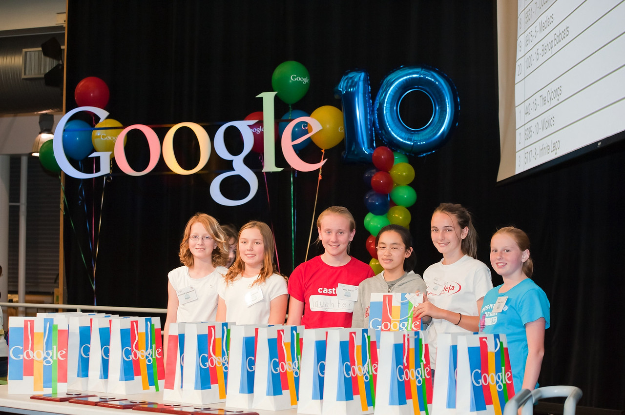 FIRST Lego League Google Qualifying Tournament