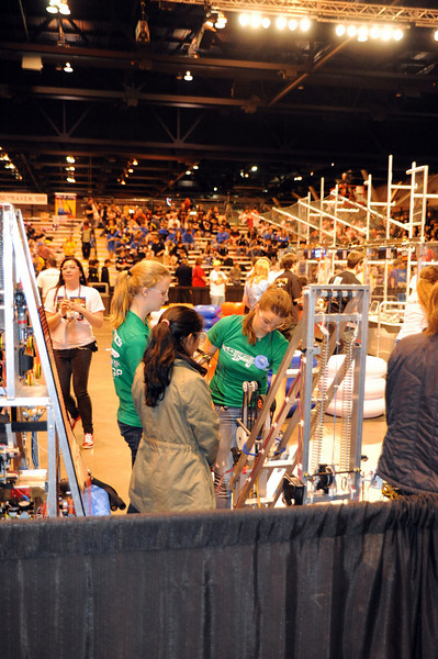 Gatorbotics Nationals Day 2 2011