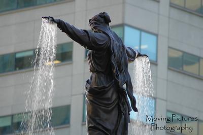 Genius of Water on Tyler Davidson Fountain
