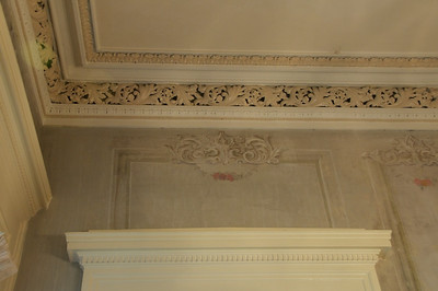 Amos Shinkle's townhouse - back parlor ceiling