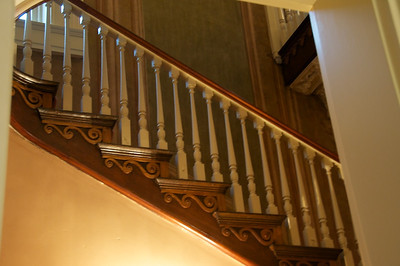 Amos Shinkle's townhouse - staircase detail