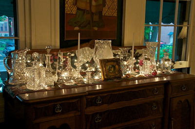 Amos Shinkle's townhouse - crystal collection
