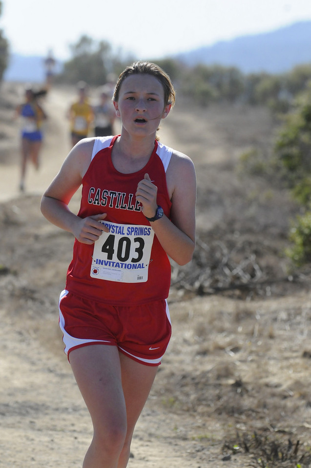 XC Meet at Crystal Springs