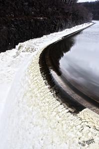 Croton Dam March 12, 2011