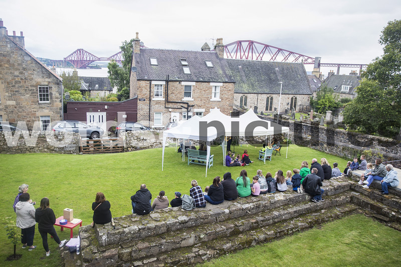 SOUTH QUEENSFERRY Ferry Fair 2019 Concert in Hawthorn Bank Walled Garden