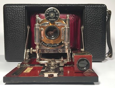 Ansco No. 6 ~ 1906 - modified for 120 film