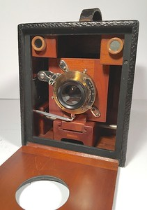 Kodak No. 4 Bulls Eye Special 1898 Model - 1898 - modified for 120 film