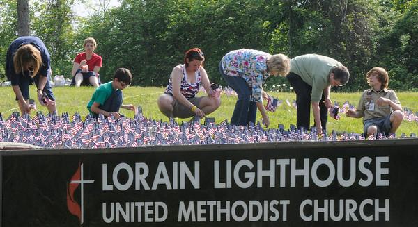 Flag Planting Lighthouse United Methodist Church