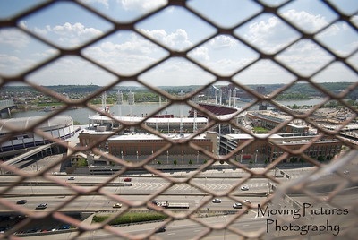 View toward Great American Ballpark ~ 20 floors up