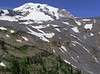 View of Mount Adams from Hell Roaring Overlook, our lunch stop.