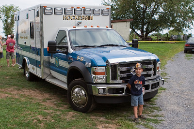 K.C. likes the ambulance since blue is his favorite color.