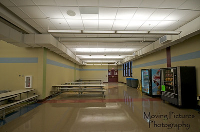 Hughes Renovations - Lunchroom: new ceiling, walls, floor