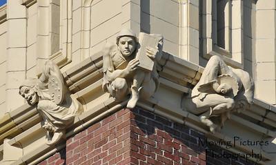 Restored gargoyles