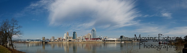 Cincinnati Skyline - March, 2012