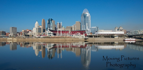 Cincinnati Skyline - January, 2012