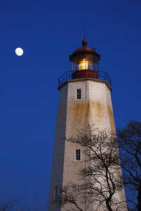 Lighthouse at Sandy Hook