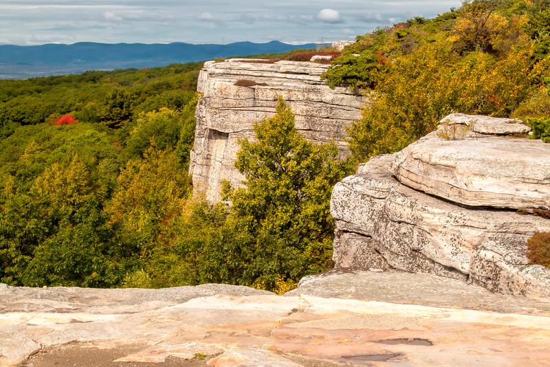 Sam's Point overlook early autumn
