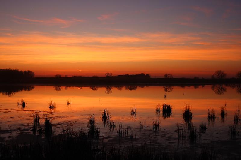 slough sunset