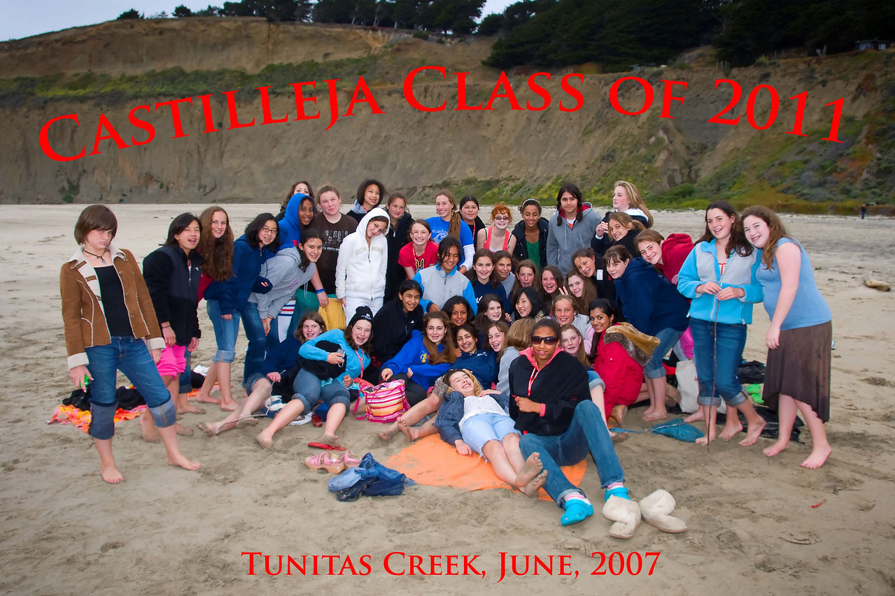 Castilleja Party Group Shot. Thanks to Colette Cranston for her persistence!