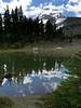 Dollar Lake looking toward Mount Hood
