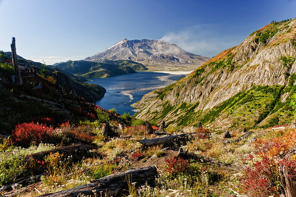 Mount St. Helens Vicinity