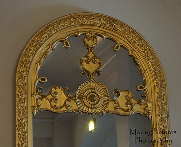 Music Hall - Lincoln mirror from Burnet House (present day site of PNC Bank building)