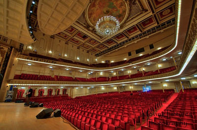 Music Hall - Springer auditorium - view from the stage