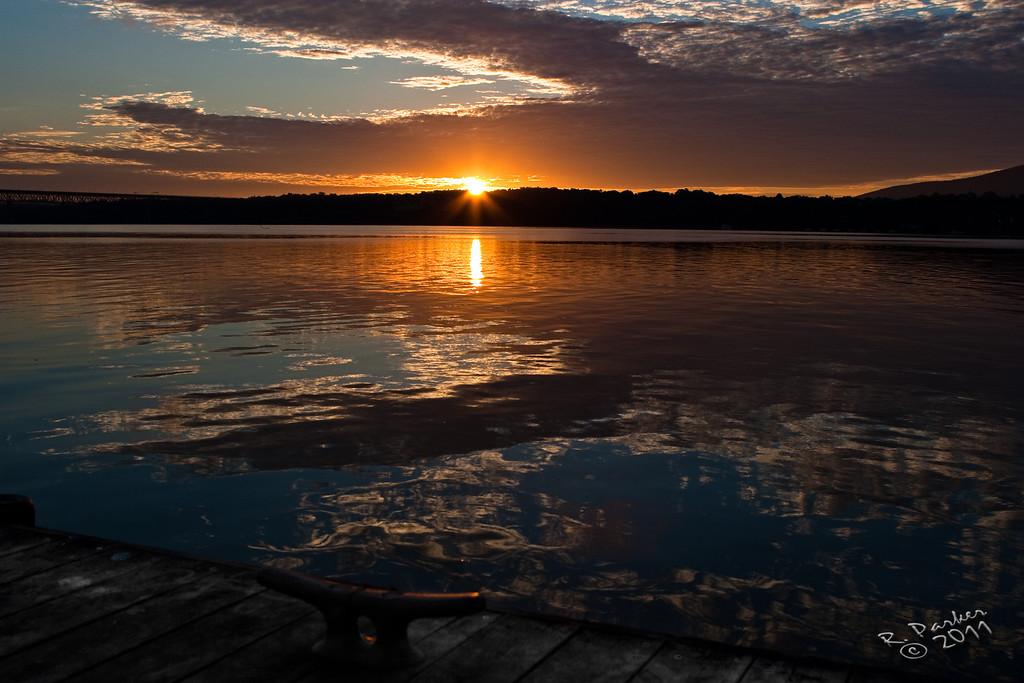 Newburgh Waterfront at Dawn