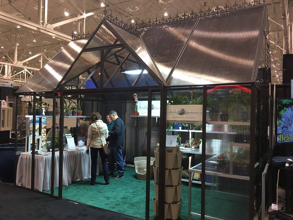 . Greenhouse, Arcadia GlassHouse LLC display