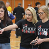 Eric Bonzar—The Morning Journal<br /> Sixty-four teams, from across the state of Ohio, converged on Lorain High School for a VEX Robotics Qualifier competition, Feb. 17, 2017. Using robots they built and programmed, some 300 middle and high school students partook in a competition designed to encompass science, technology, engineering and math (STEM).